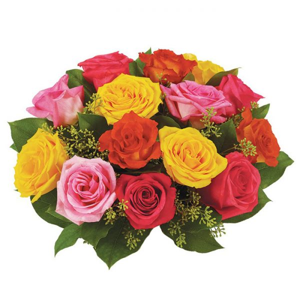 Bouquet rosas surtidas