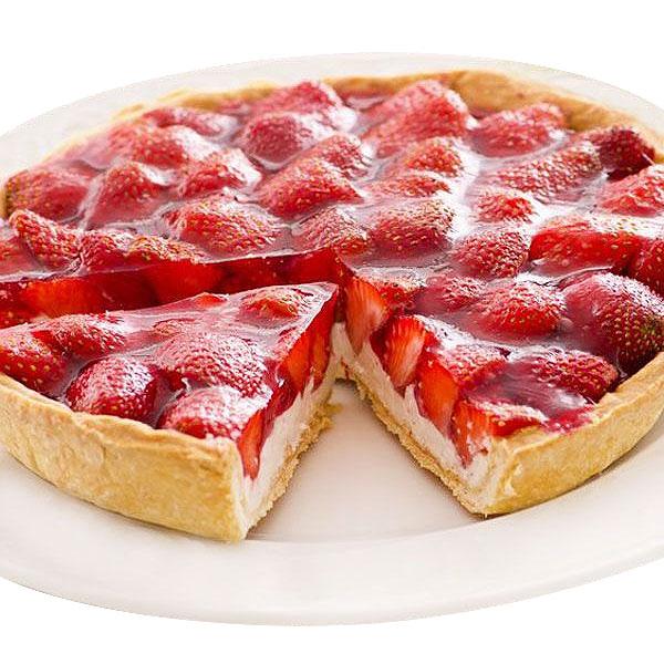Pie de fresa